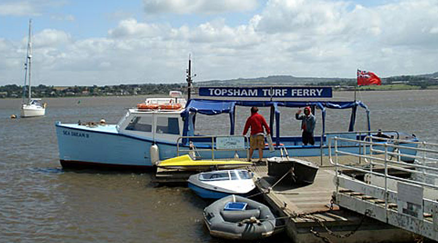 Boat Ride to Turf Locks | Exmouth Holidays | Self catering